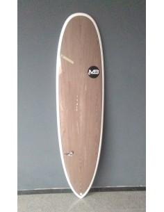 TABLA DE SURF MB DARK CRAB EPOXY WOOD 7'2''