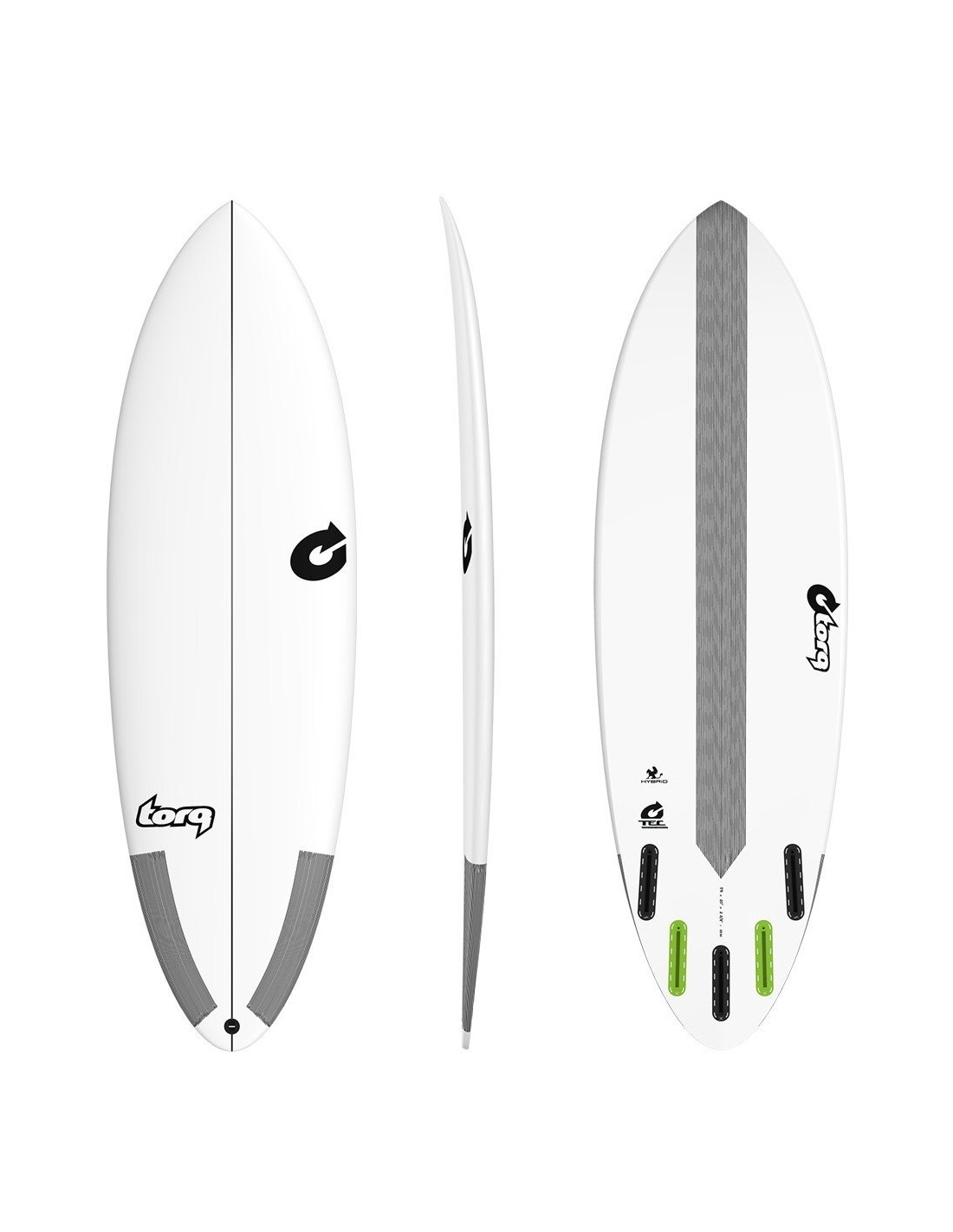 48d7433326c TABLA DE SURF TORQ HYBRID TEC 6 4   - GO Surfing Shop