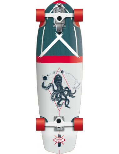 SURFSKATE LUSKA 31.5'' FLYING WHEELS