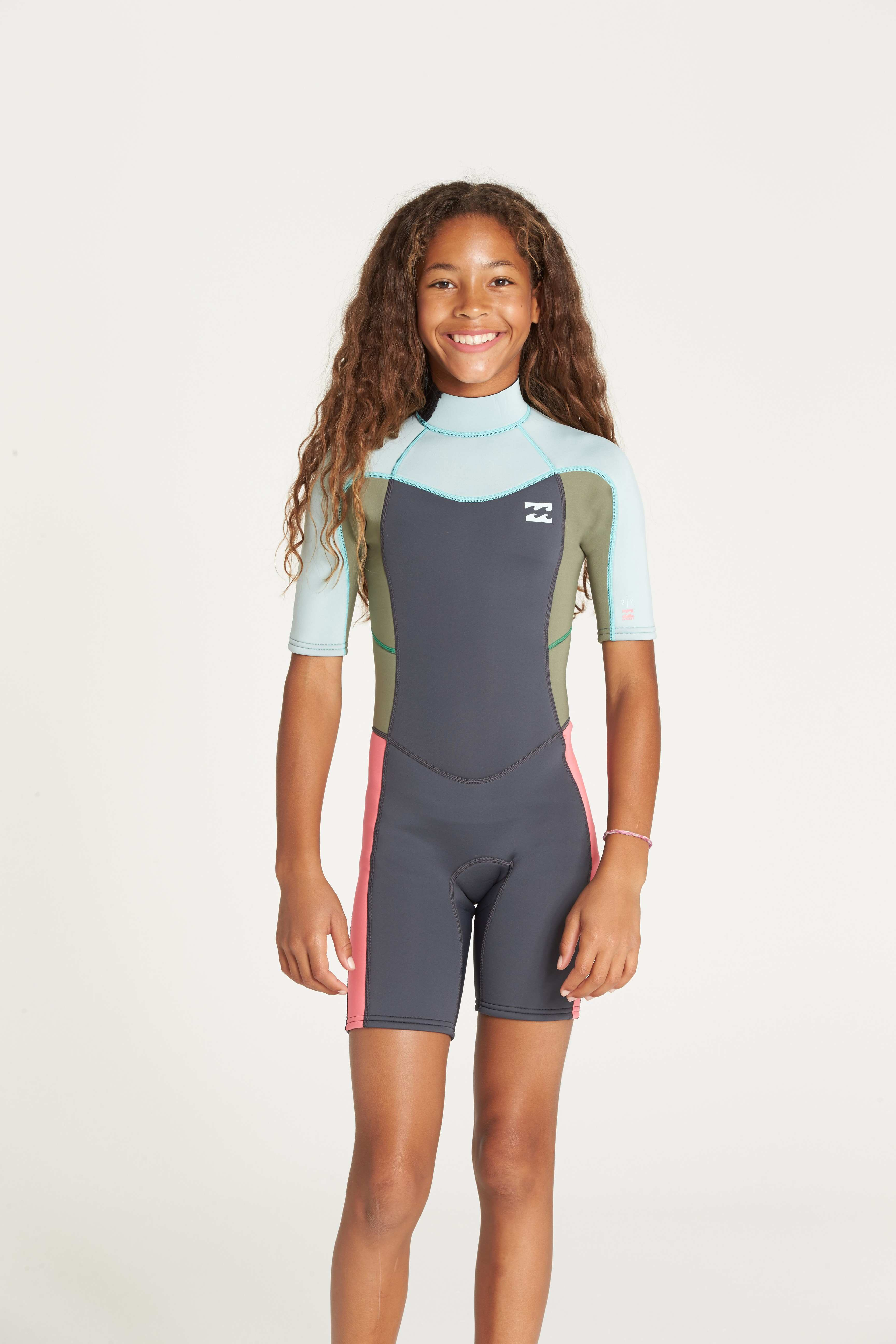 f38377fd240 TRAJE DE SURF NIÑA CORTO BILLABONG 202 SYNERGY - GO Surfing Shop